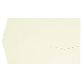Kraft-Pocketfolds Signature Side 13x18, Vanillie