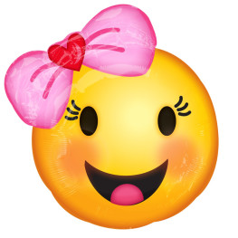 Emoji-Folienballon (Happy Girl)