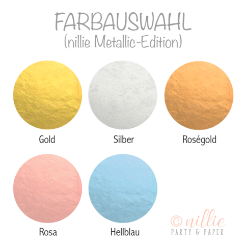 Farbauswahl Baby (Metallic-Edition)