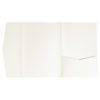 nillie Pocketfolds (Signature Side 13x18), Ivory-Metallic