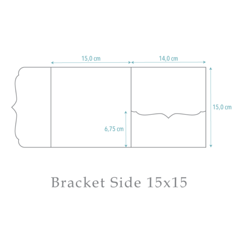 nillie Pocketfold-Maße (Bracket Side 15x15)