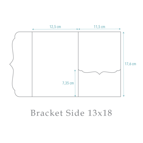 nillie Pocketfold-Maße (Bracket Side 13x18)