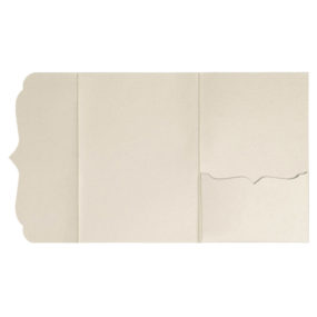 Pocketfolds von nillie kaufen: Bracket-Serie 13x18 in Beige-Metallic