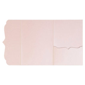 Pocketfolds von nillie kaufen: Bracket-Serie 13x18 in Rosa-Metallic