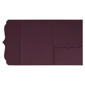 Pocketfolds von nillie kaufen: Bracket-Serie 13x18 in Burgund/Weinrot