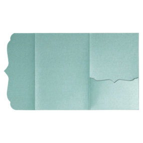 Pocketfolds von nillie kaufen: Bracket-Serie 13x18 in Jade-Metallic