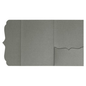 Pocketfolds von nillie kaufen: Bracket-Serie 13x18 in Anthrazit-Metallic