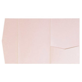 nillie Pocketfolds (Signature Side 13x18), Rosa-Metallic