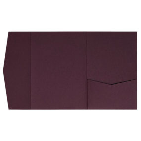 nillie Pocketfolds (Signature Side 13x18), Burgund (Matt)
