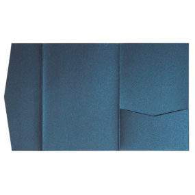 nillie Pocketfolds (Signature Side 13x18), Dunkelblau-Metallic