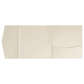 Pocketfold-Rohlinge (Signature Side 15x15), Beige-Metallic