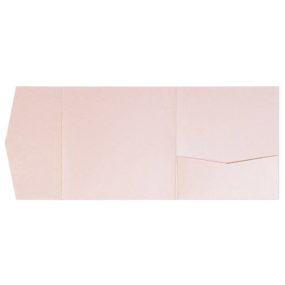 Pocketfold-Rohlinge (Signature Side 15x15), Rosa-Metallic