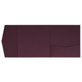 Pocketfold-Rohlinge (Signature Side 15x15), Burgund