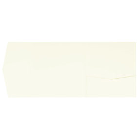 Pocketfold-Rohlinge (Signature Side 15x15), Creme