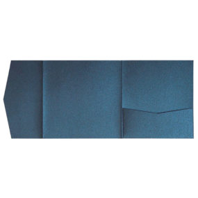 Pocketfold-Rohlinge (Signature Side 15x15), Dunkelblau-Metallic