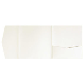Pocketfold-Rohlinge (Signature Side 15x15), Ivory-Metallic