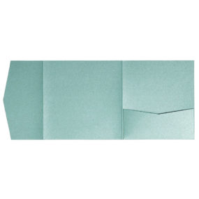Pocketfold-Rohlinge (Signature Side 15x15), Jade-Metallic