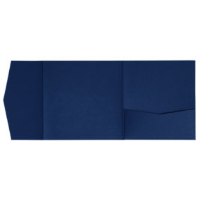 Pocketfold-Rohlinge (Signature Side 15x15), Dunkelblau