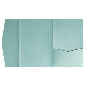 nillie Pocketfolds (Signature Side 13x18), Jade(Grün)-Metallic