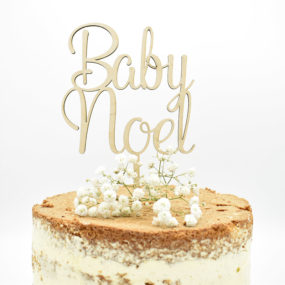 Cake Topper Baby (personalisiert)